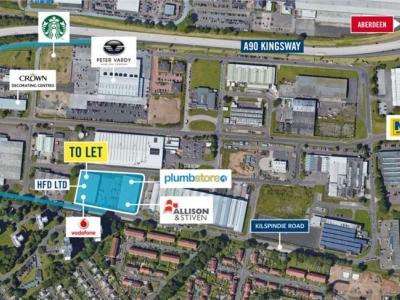 Industrial Unit, Dunsinane Park<br/>Kilspindie Road<br/>Dunsinane Industrial Estate<br/>Dundee<br/>DD2 3JP<br/>Dunsinane Industrial Estate<br/> Image