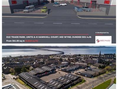 Industrial Unit, D10 - Units A-K, Hawkhill Court, <br/>Mid Wynd<br/>Dundee<br/>DD1 4JG<br/>Mid Wynd/Hawkhill <br/> Image