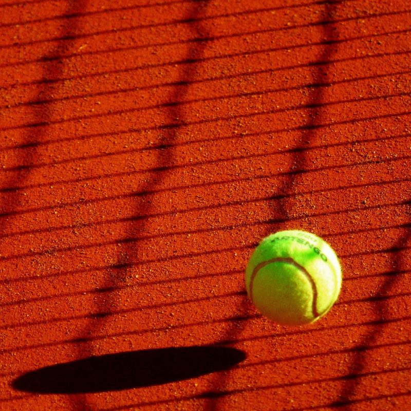 Mini Red / Orange Tennis Image