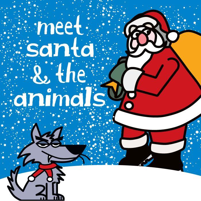 Meet Santa and the Animals Image