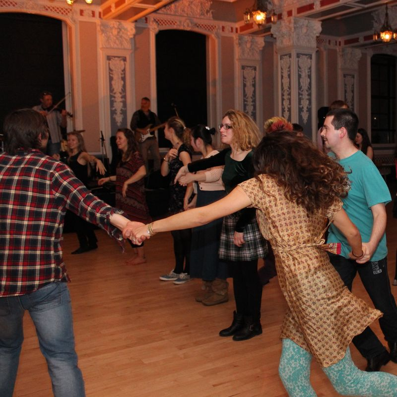 Scottish Country Dancing Class Image