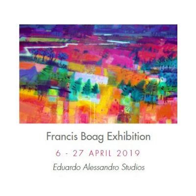 Francis Boag Art Exhibition Image