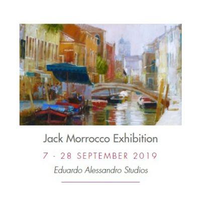 Jack Morrocco Art Exhibition Image
