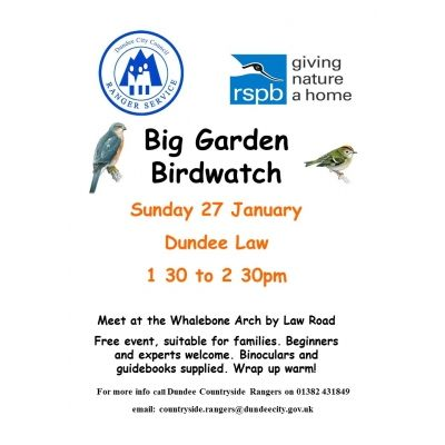 RSPB Big Garden Birdwatch Image