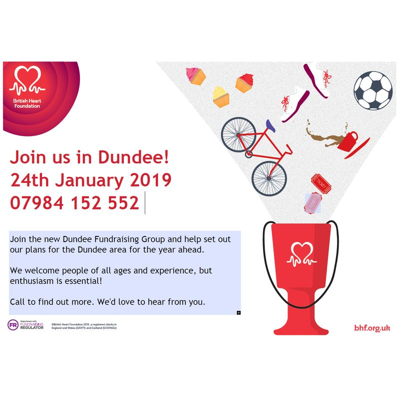 British Heart Foundation - Dundee Fundraising Group Image