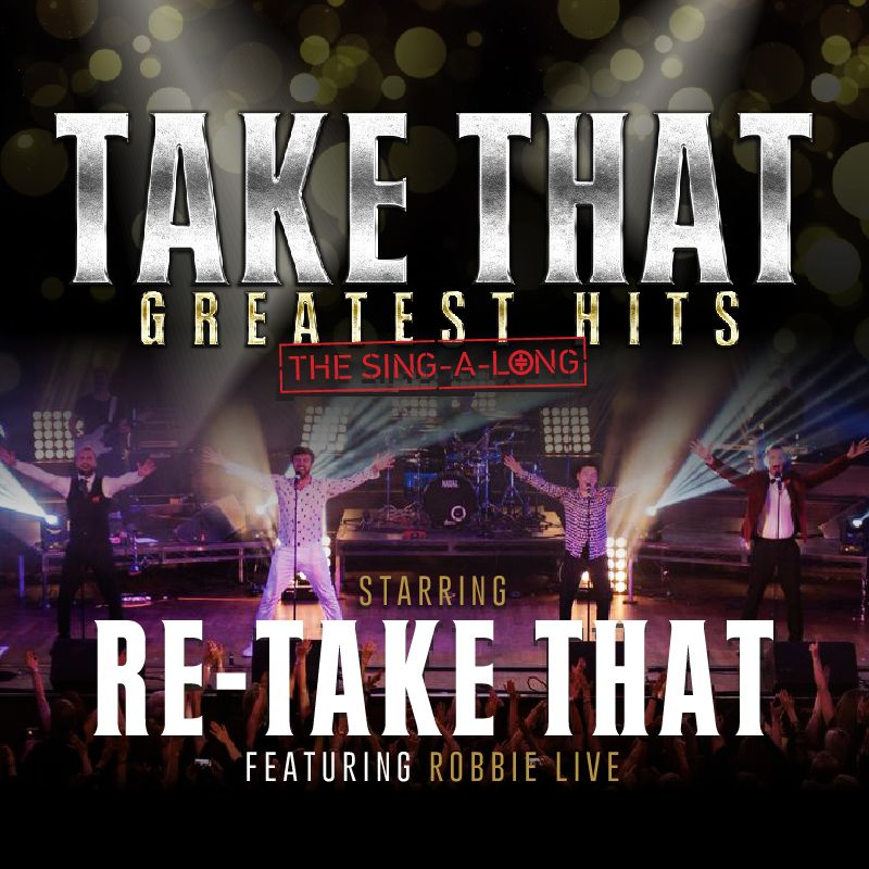 Take That Greatest Hits - The Sing-A-Long Image