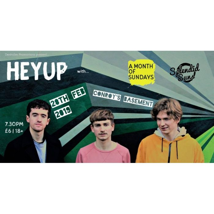 Heyup and Special Guests Image