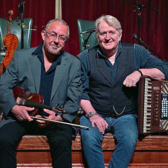 Ali Bain and Phil Cunningham Image