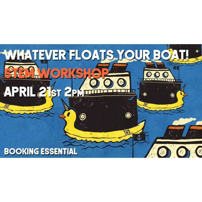 Workshop: Whatever Floats Your Boat! Image