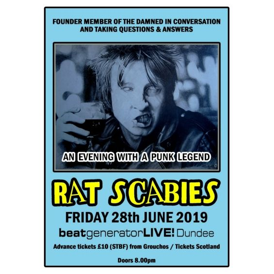 An Evening with Rat Scabies Image