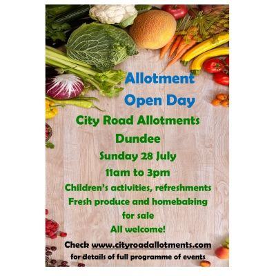 City Road Allotment Open Day Image