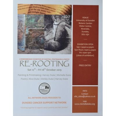 Re-Rooting: A Remembrance Exhibition of Painting, Printmaking and Poetry Image