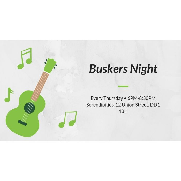 Buskers Night Image