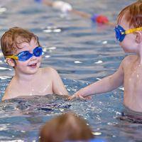 Family Fun Swimming Image