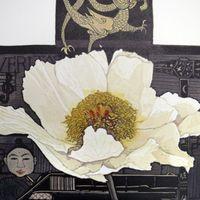 Babs Robertson Lino Printing Image
