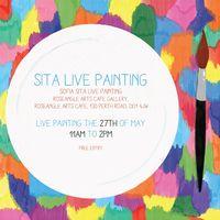 Sofia Sita Live Painting Image