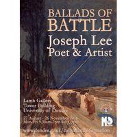 Ballads of Battle - Joseph Lee, Poet and Artist Image