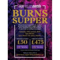 ACK presents the 7th Annual Burns Supper for PAMIS Image