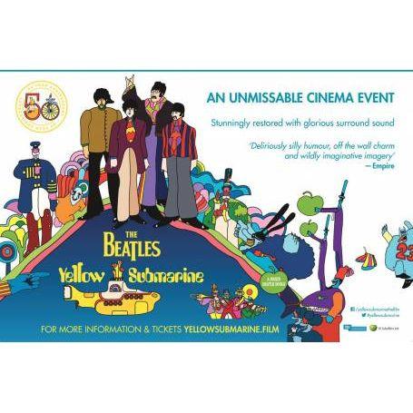 The Beatles Yellow Submarine Image