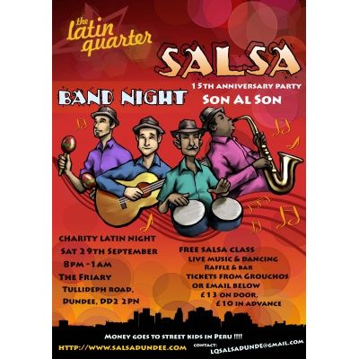 Latin Quarter 15th Anniversary Celebration Charity Band Night Image