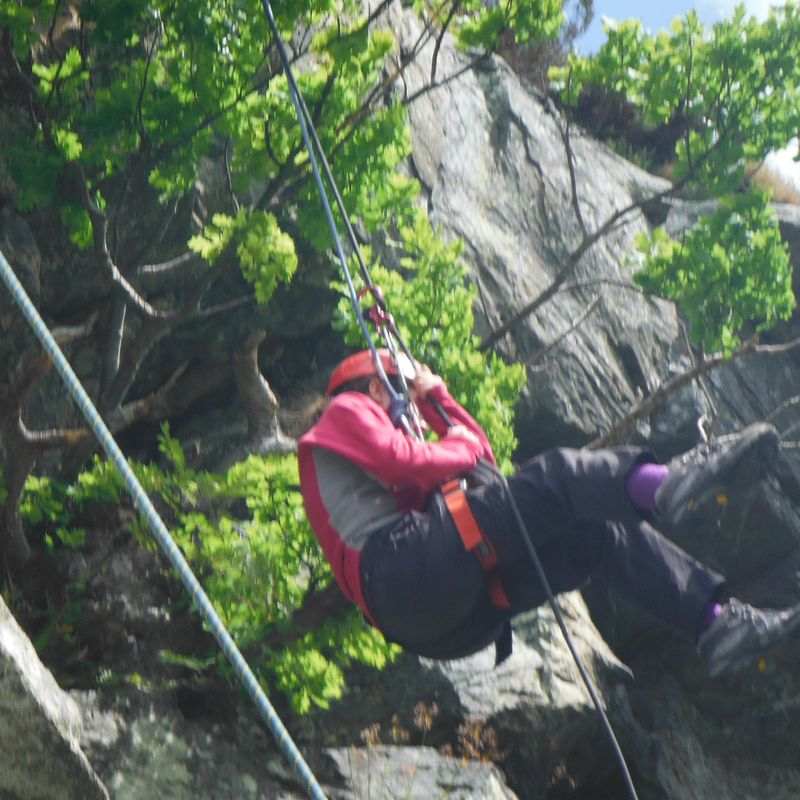 Learn to Lead Outdoor Rock Climb (Age 18 plus) Image