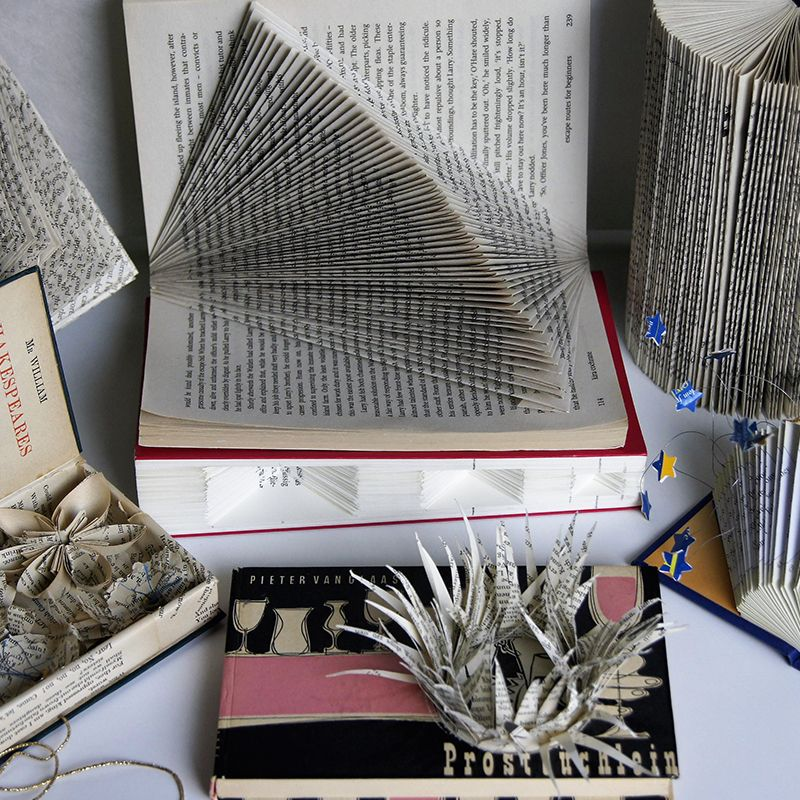 Altered Book Sculpture Workshop with Isabell Buenz Image