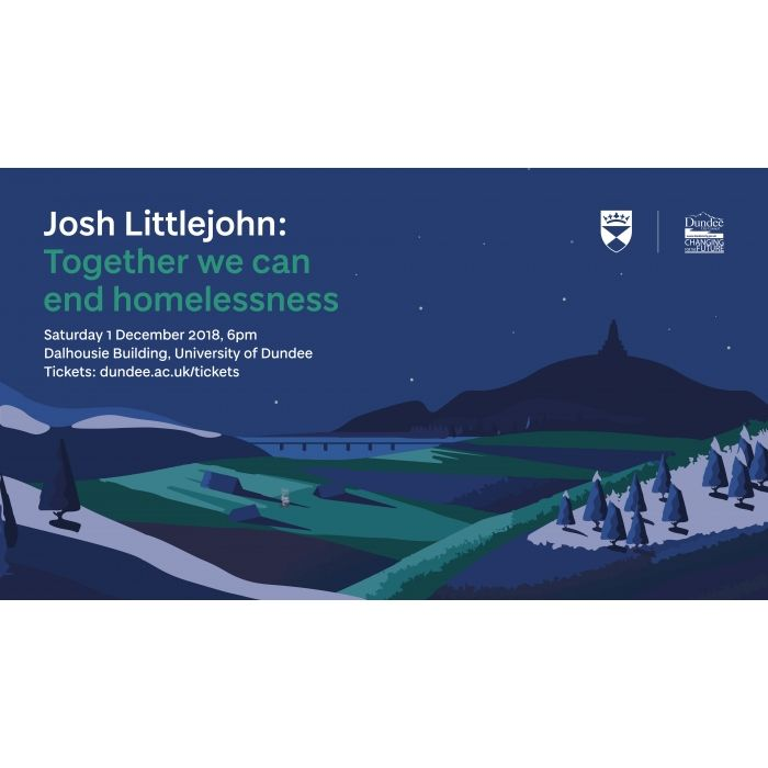 The Dundee Christmas Lecture 2018 - Josh Littlejohn: Together we can end homelessness Image