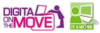 Digital on the move logo